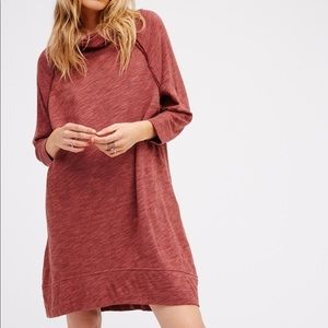 Free People Beach Terri Cocoon Cowl Neck Sweater